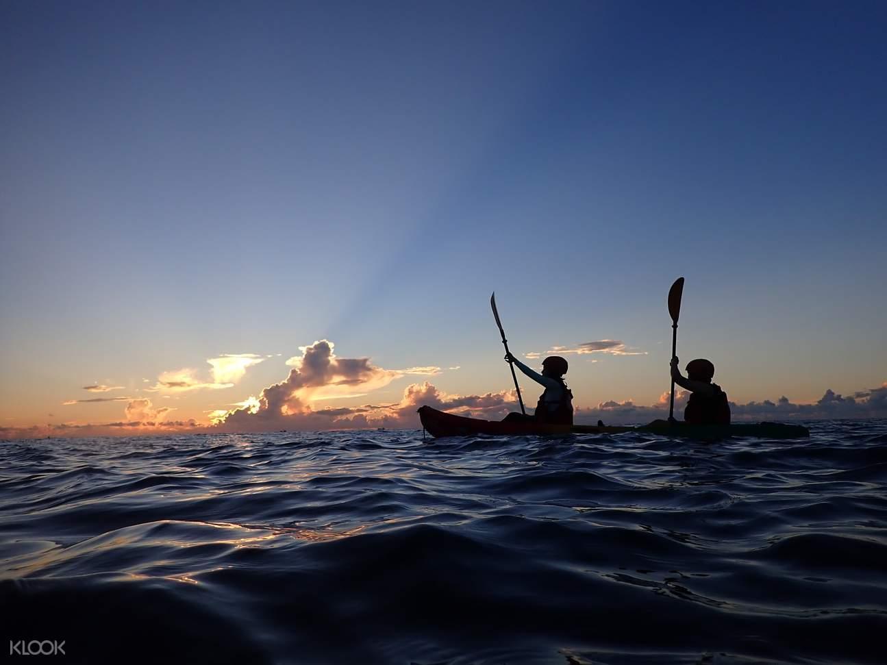 東澳烏岩角透明獨木舟體驗・一泊二食星空野營