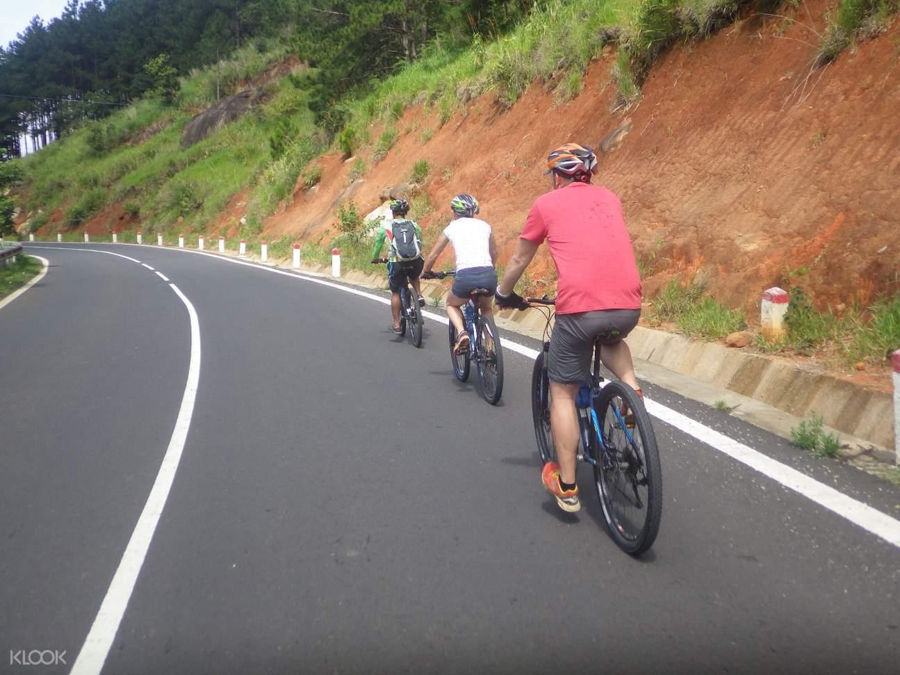 da lat cycling tour