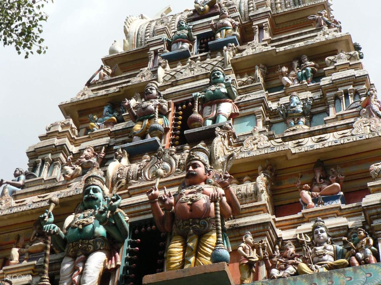 Indian temple facade