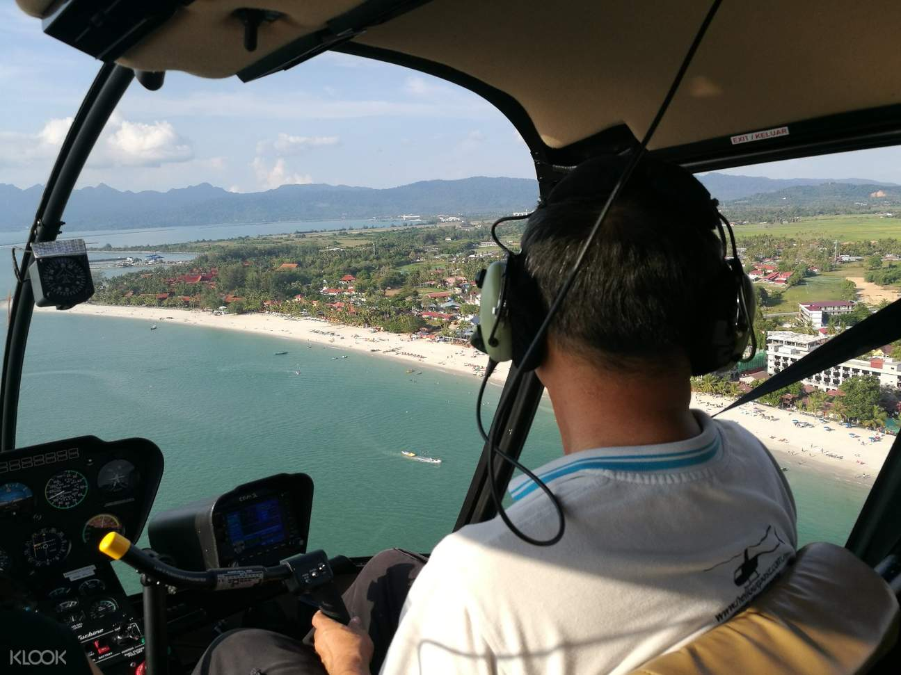 langkawi helicopter english speaking guide