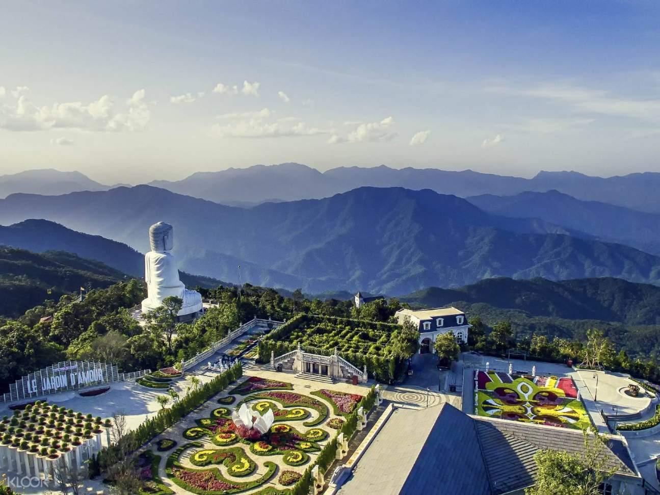 27 meters Buddha Statue at Linh Ung pagoda