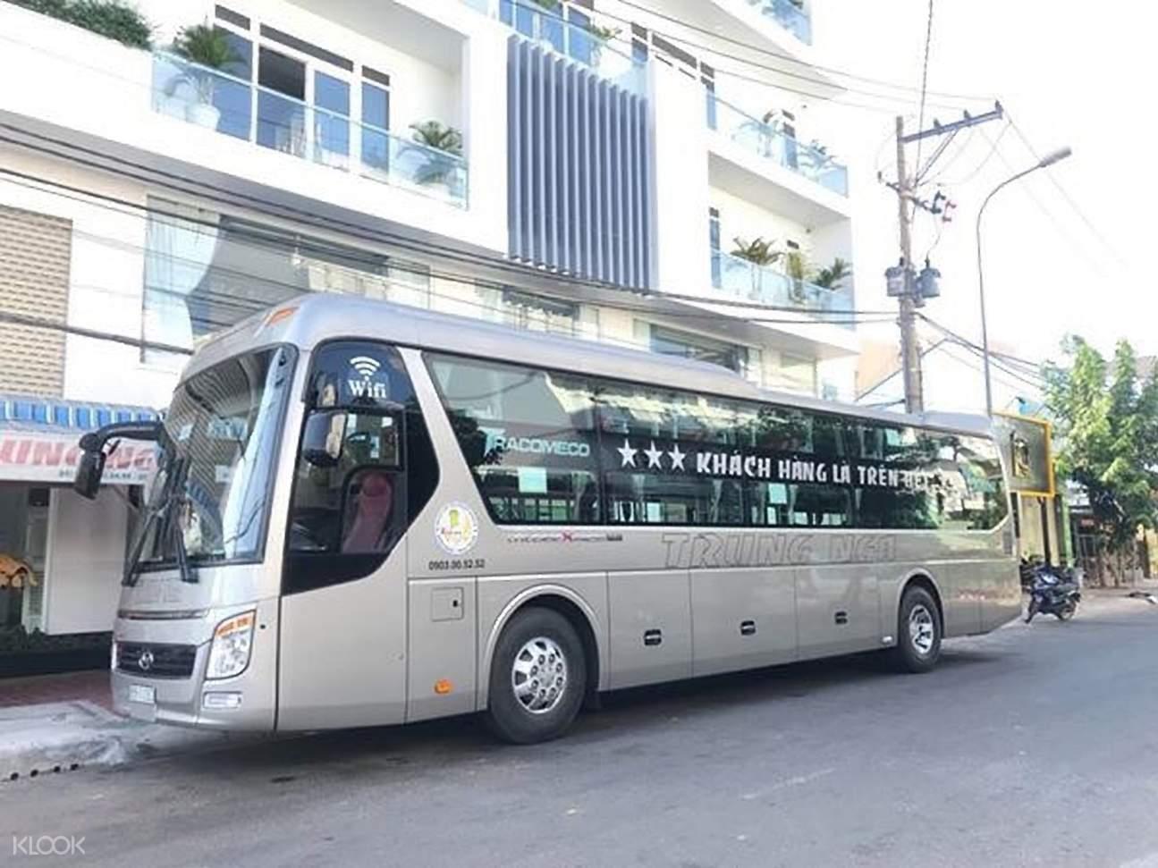 trung nga sleeper bus transfer from ho chi minh city to phan thiet