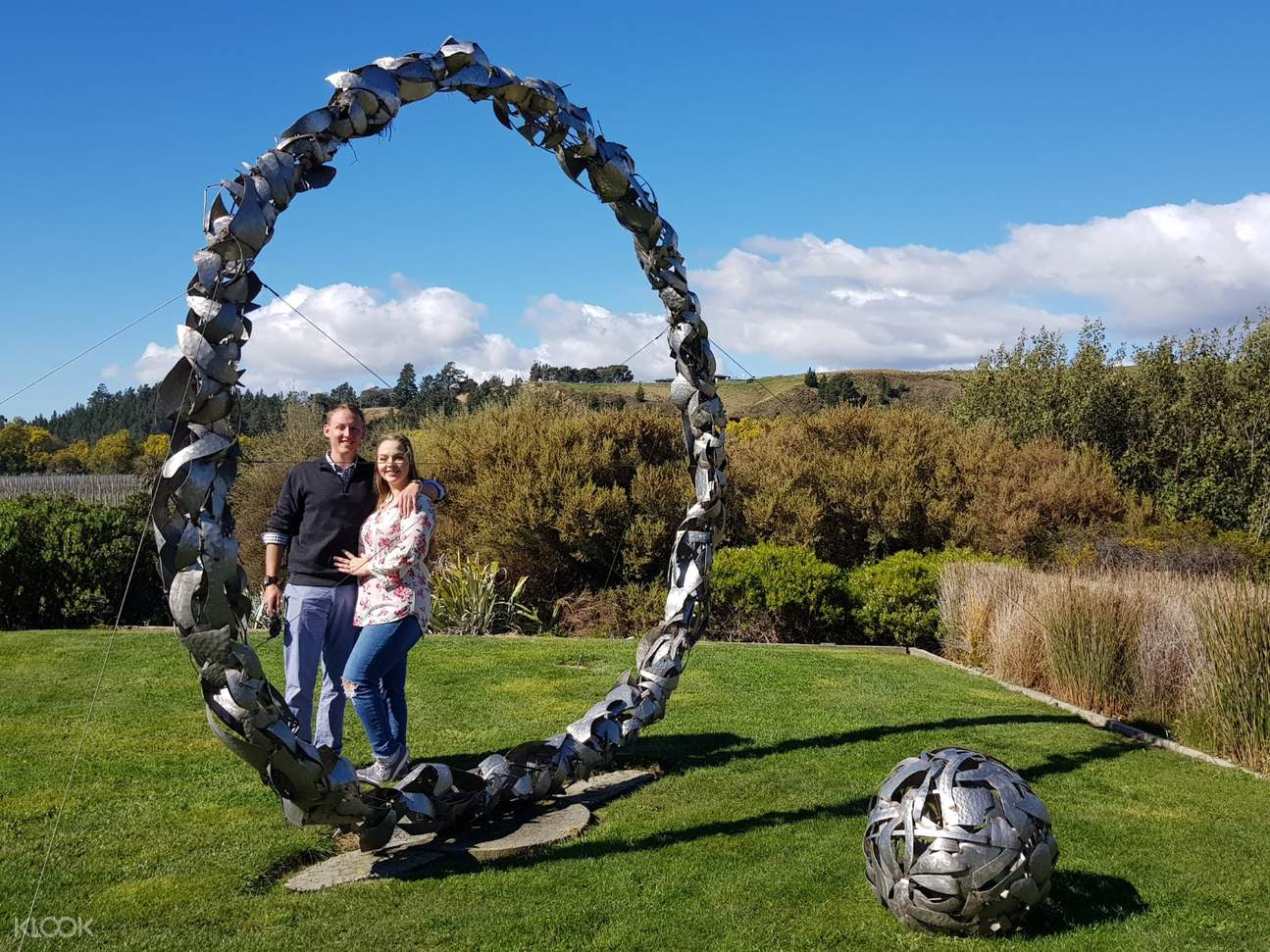 Take in the surrounds of the Wineries