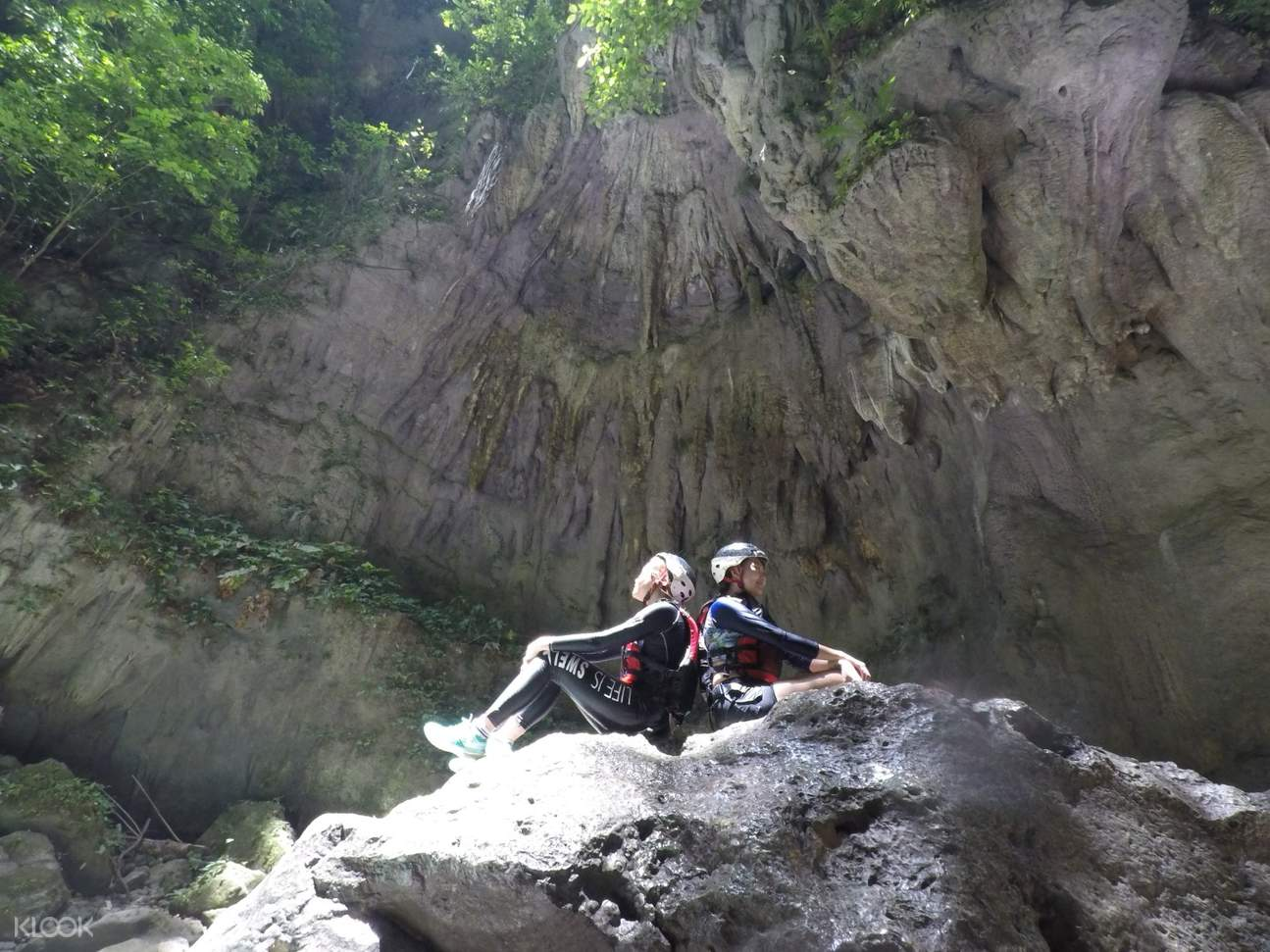Badian Canyoneering Adventure with friends