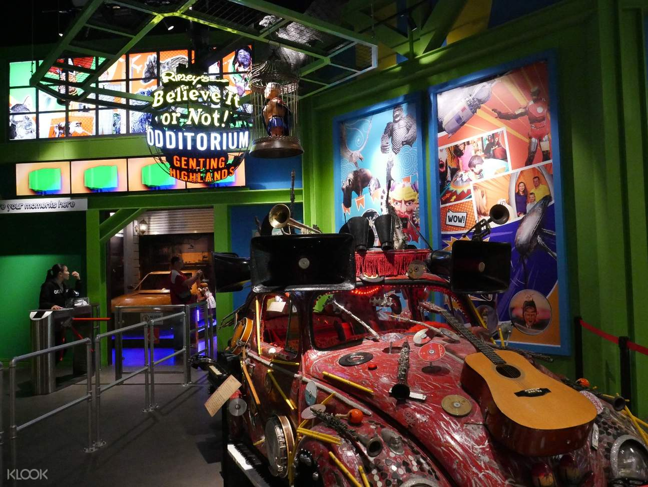 ripley's believe it or not museum adventureland genting highlands admission ticket kuala lumpur