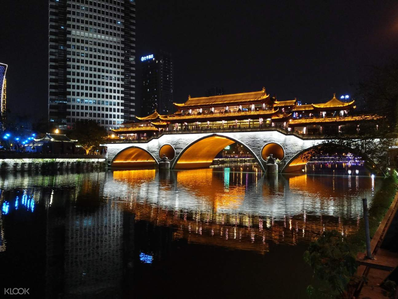 chengdu night view
