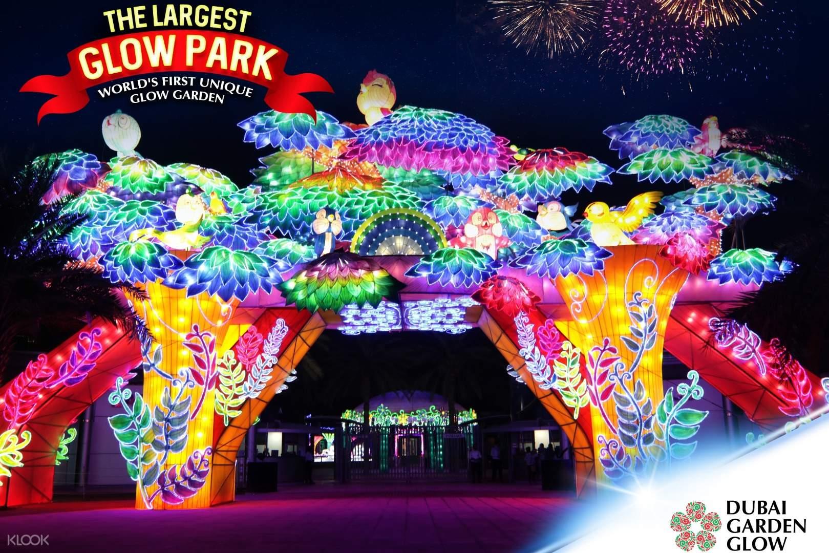 Dubai Garden Glow Ticket In Dubai Uae