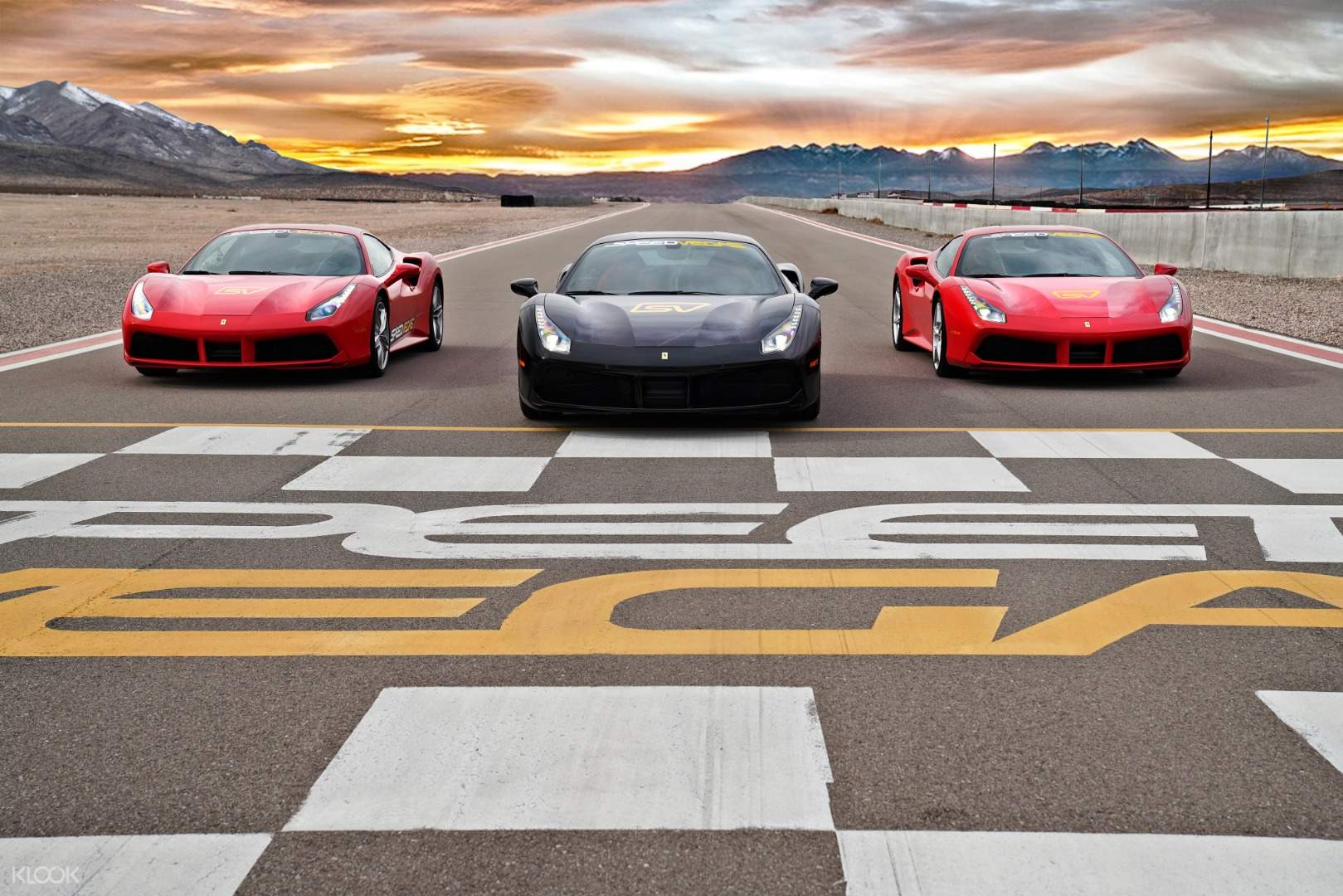 Exotic Supercar Driving On A Real Racetrack Experience In Las Vegas