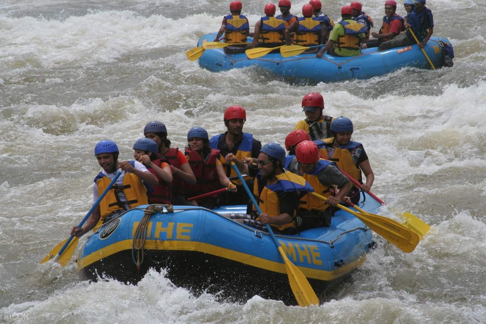 White Water Rafting in Kolad, India - Klook