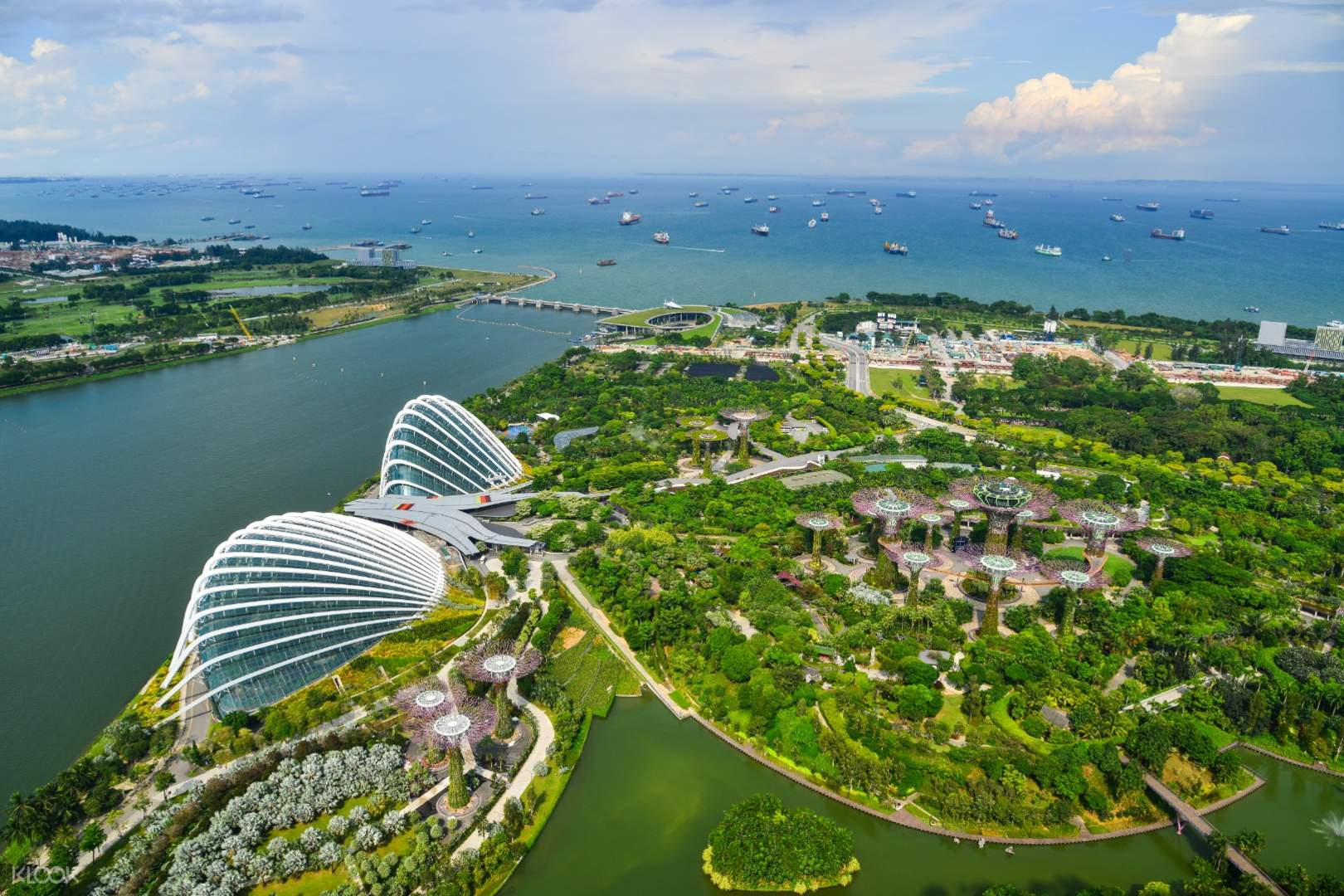 Singapore Gardens by the Bay Tickets (Cloud Forest & Flower Dome) - Klook Philippines