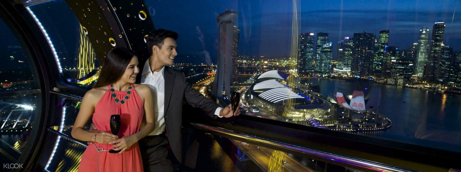 Singapore Flyer Premium Beverage Flight""