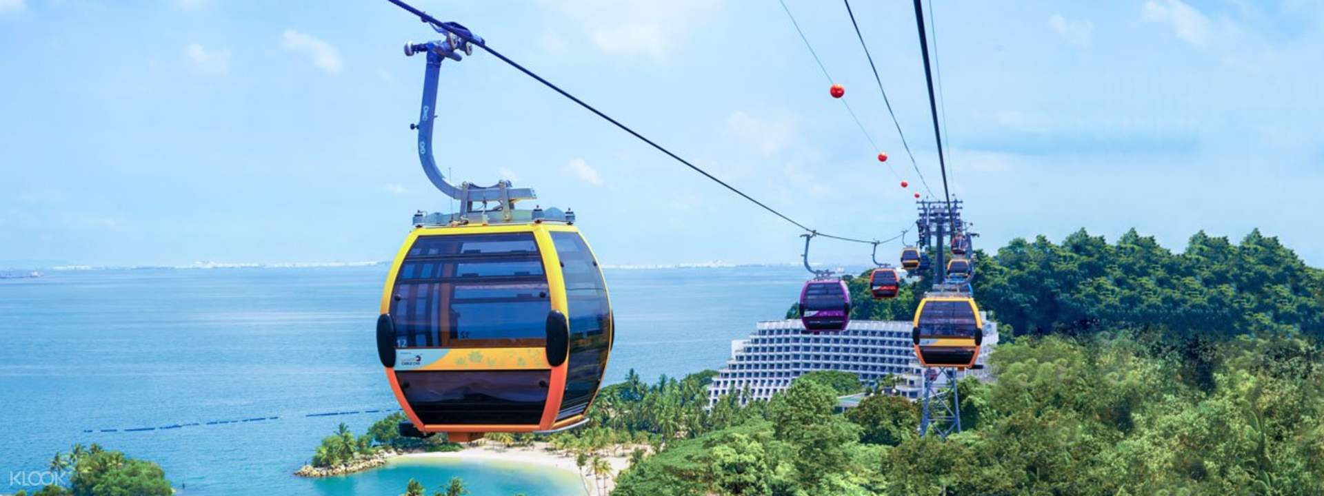 Singapore Cable Car Skypass""