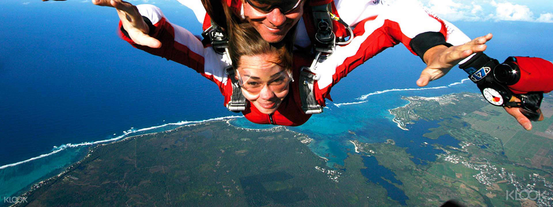 Skydiving Mauritius