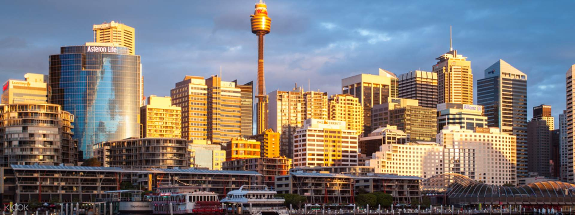 Sydney Tower Eye Discount Tickets Bar Code Direct Entry Klook