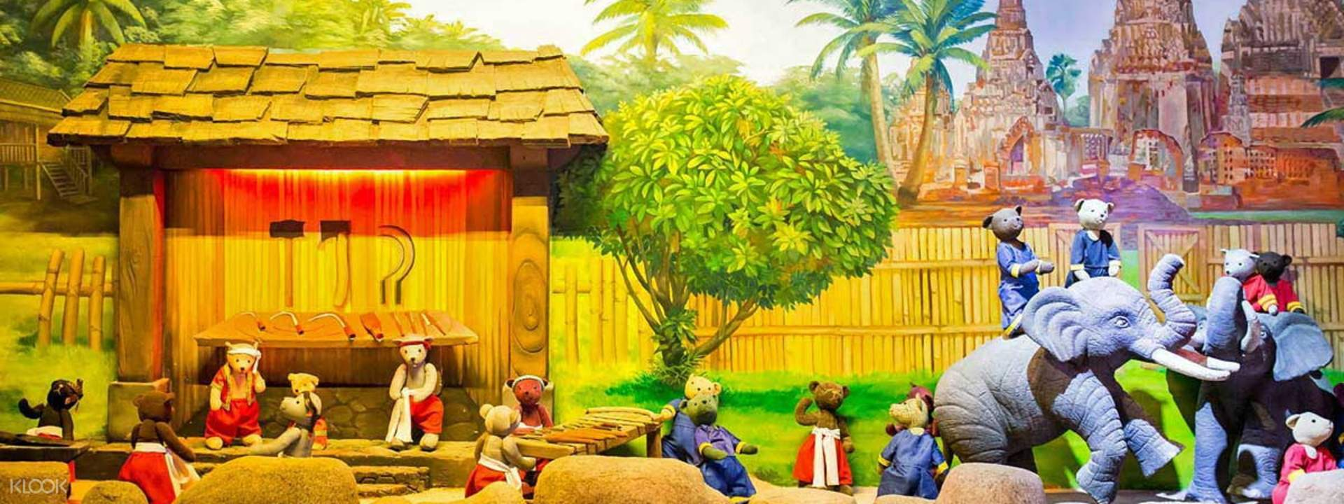 ผลการค้นหารูปภาพสำหรับ Teddybear Museum Pattaya