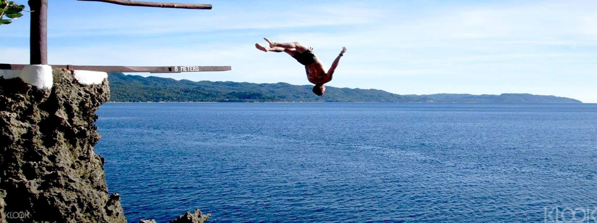 "Ariel's Point Cliff Diving"""