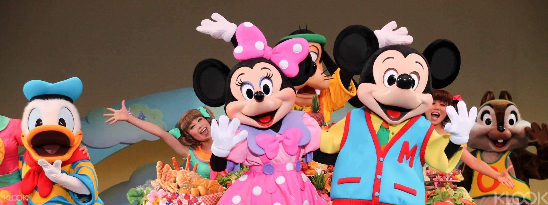 도쿄 디즈니랜드/디즈니씨 1일 입장권(바로 입장)과 환상의 세계로! - Klook
