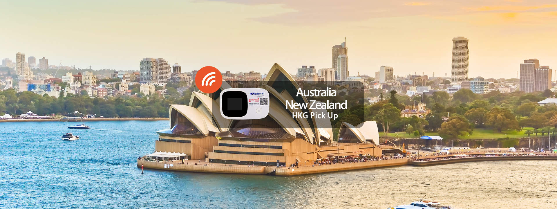 4G/3G WiFi (HKG Pick Up) for Australia/New Zealand with