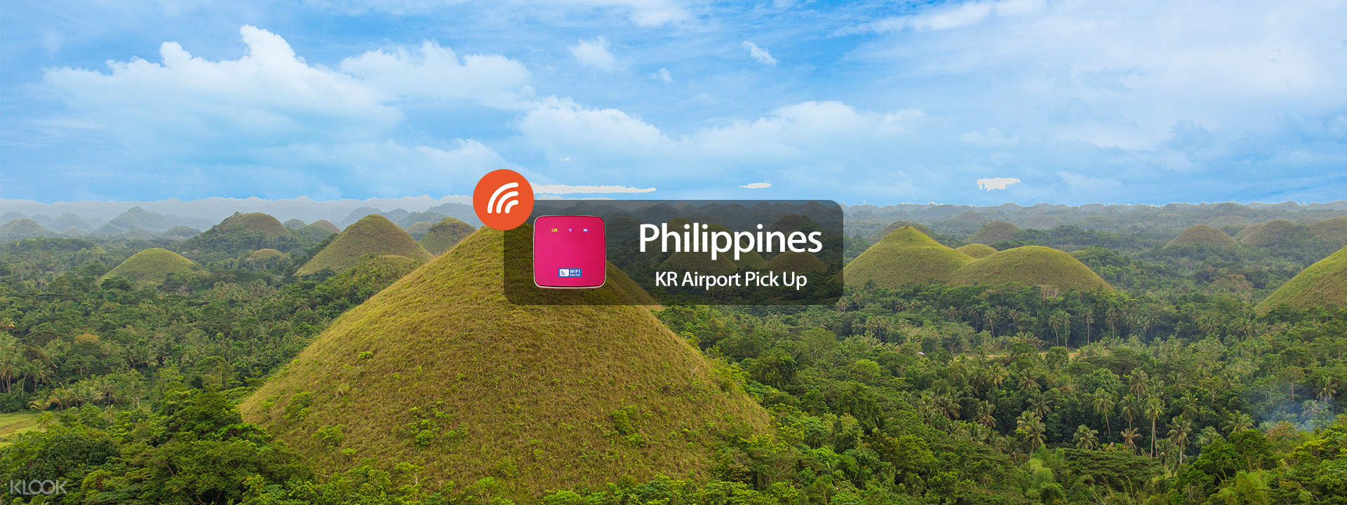 """4G WiFi (KR Airport Pick Up) for Philippines from WIDEMOBILE"""""""