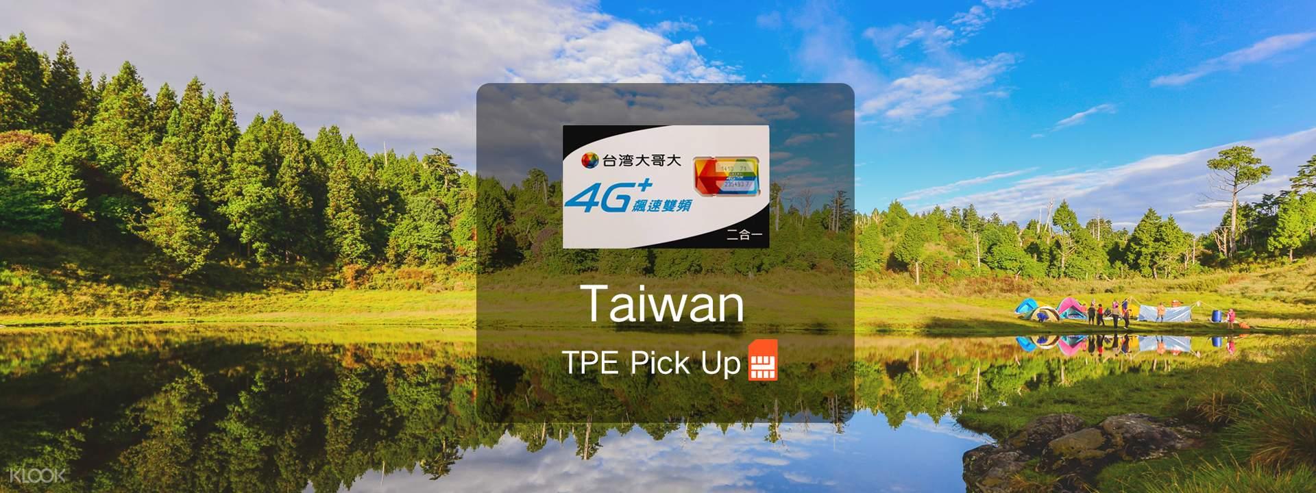 4G SIM Card with Calls (Taipei Taoyuan Airport Pick Up