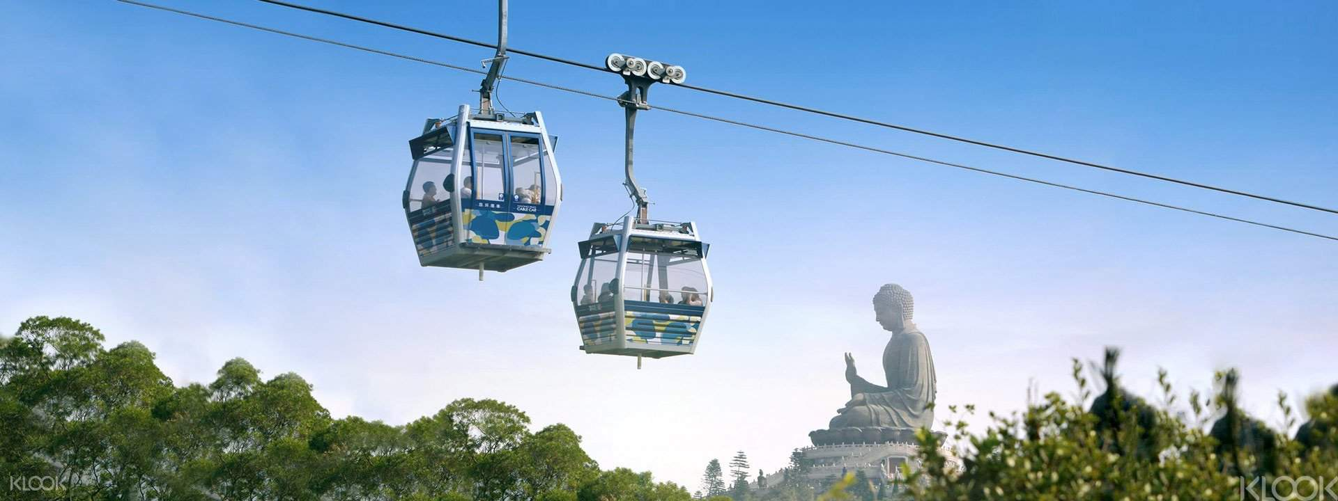 Ngong Ping 360 - Standard Cabin (One Way / Roundtrip)""