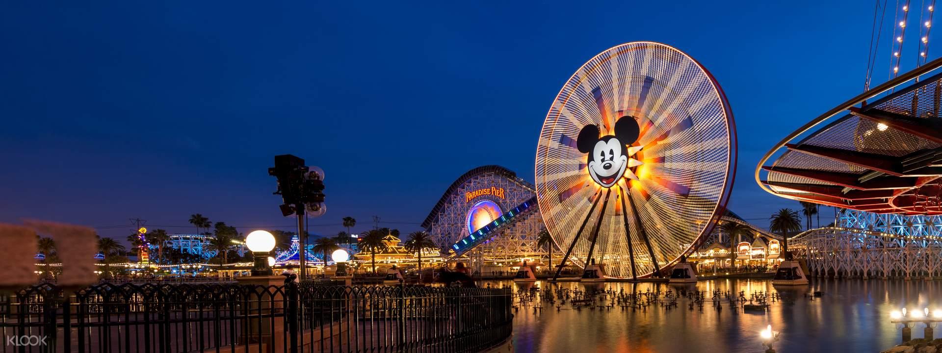 Disneyland Park & Disney California Adventure Park Multi