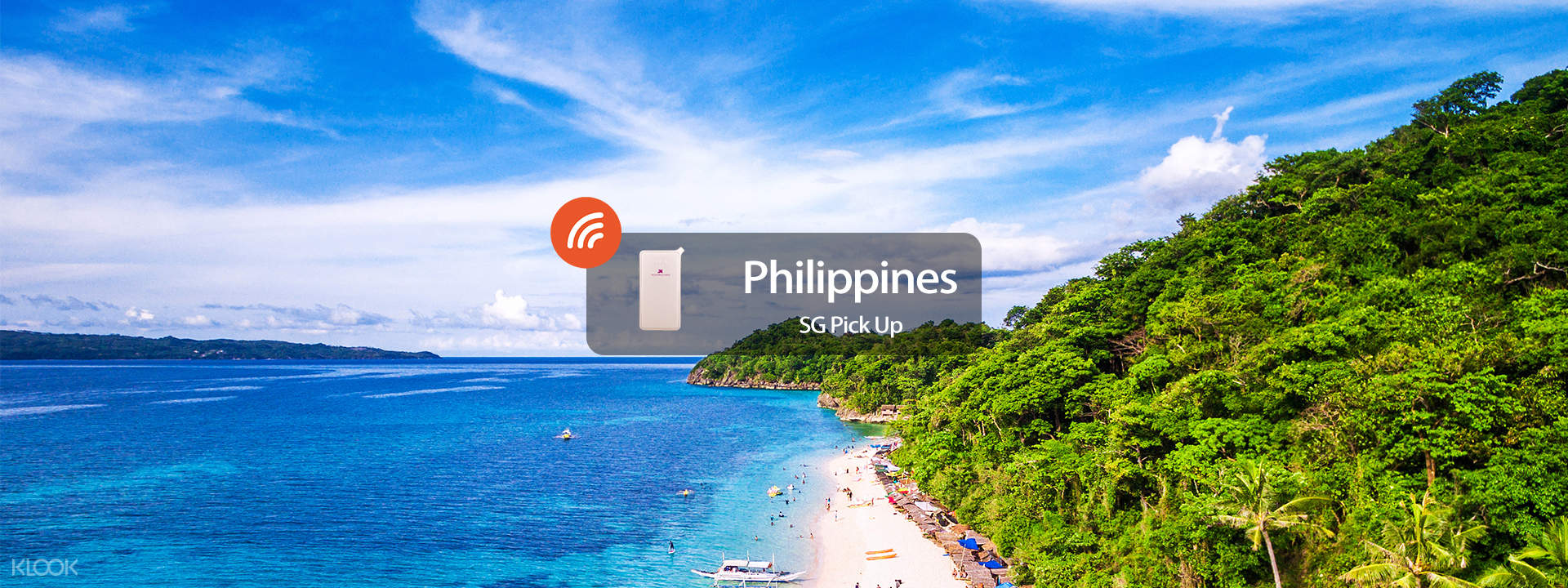 4G WiFi (SG Pick Up) for the Philippines - Klook