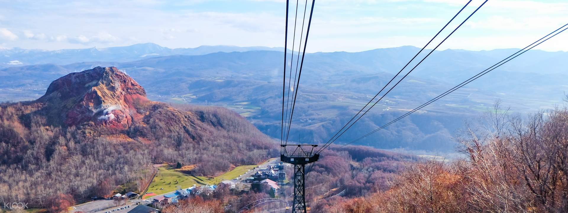 Usuzan Ropeway Round Trip Ticket Hokkaido, Japan - Klook