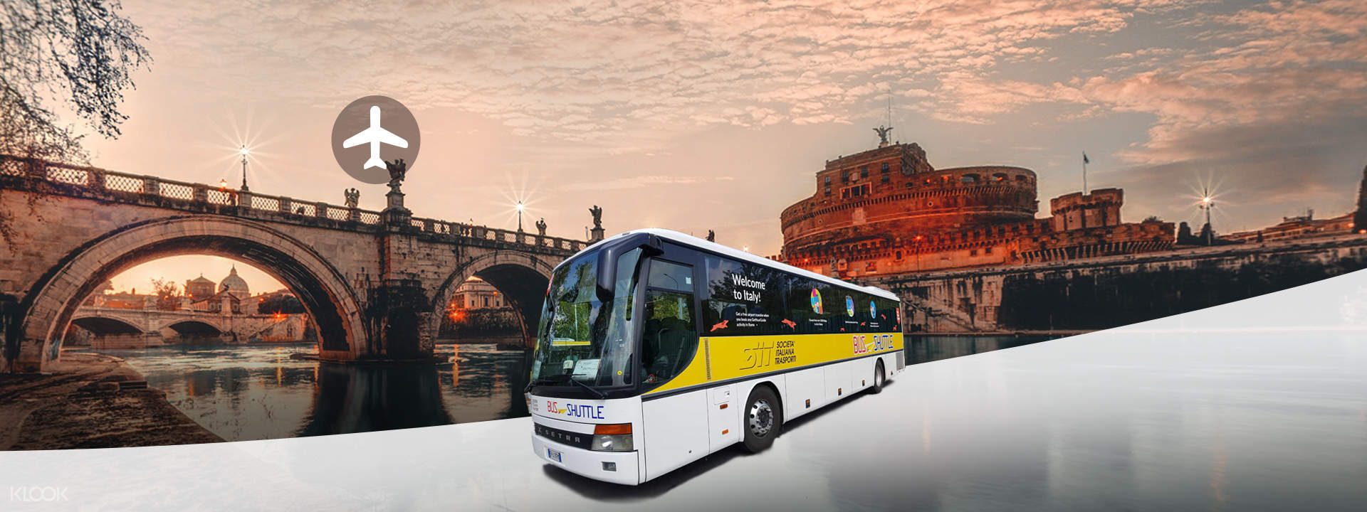 Bus Transfers from Fiumicino Airport to Vatican and Rome