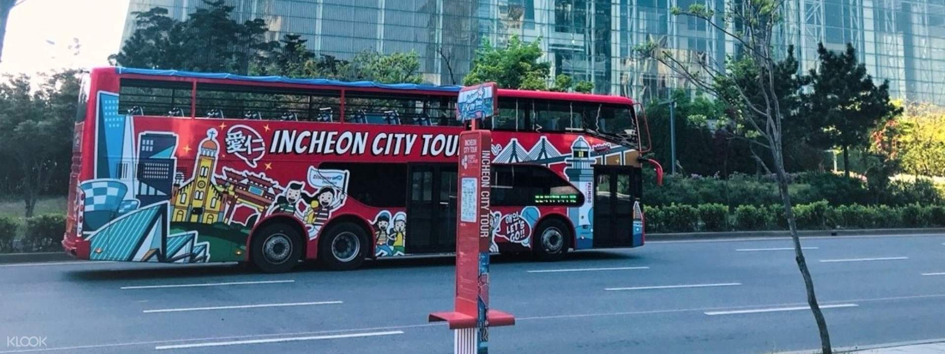Hop-On/Hop-Off City Bus Sightseeing Trip in Incheon, South