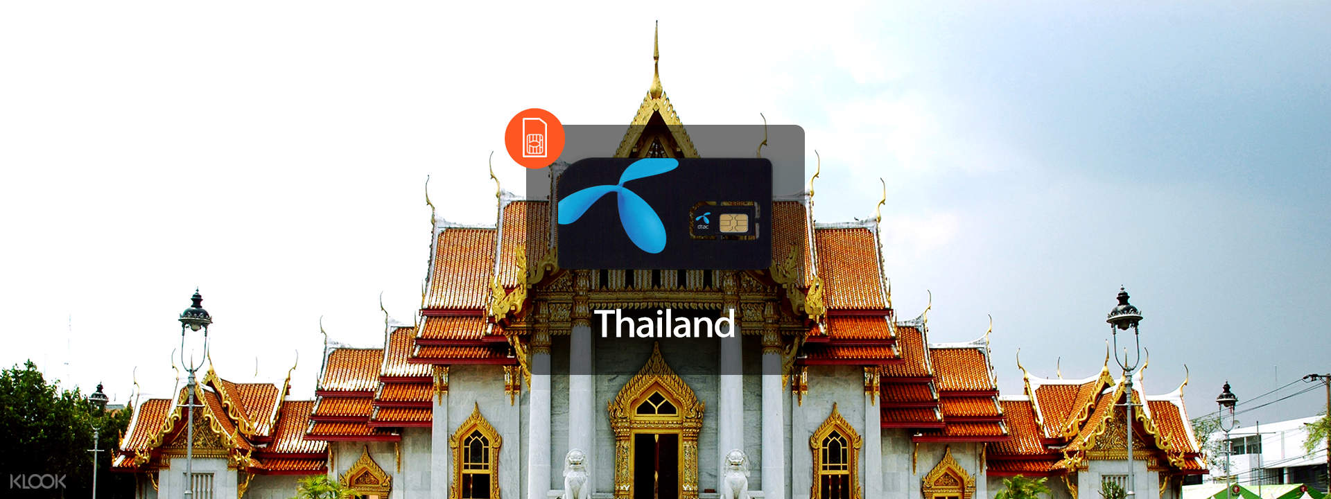 3G/4G SIM Card (HKG Pick Up) for Thailand - Klook
