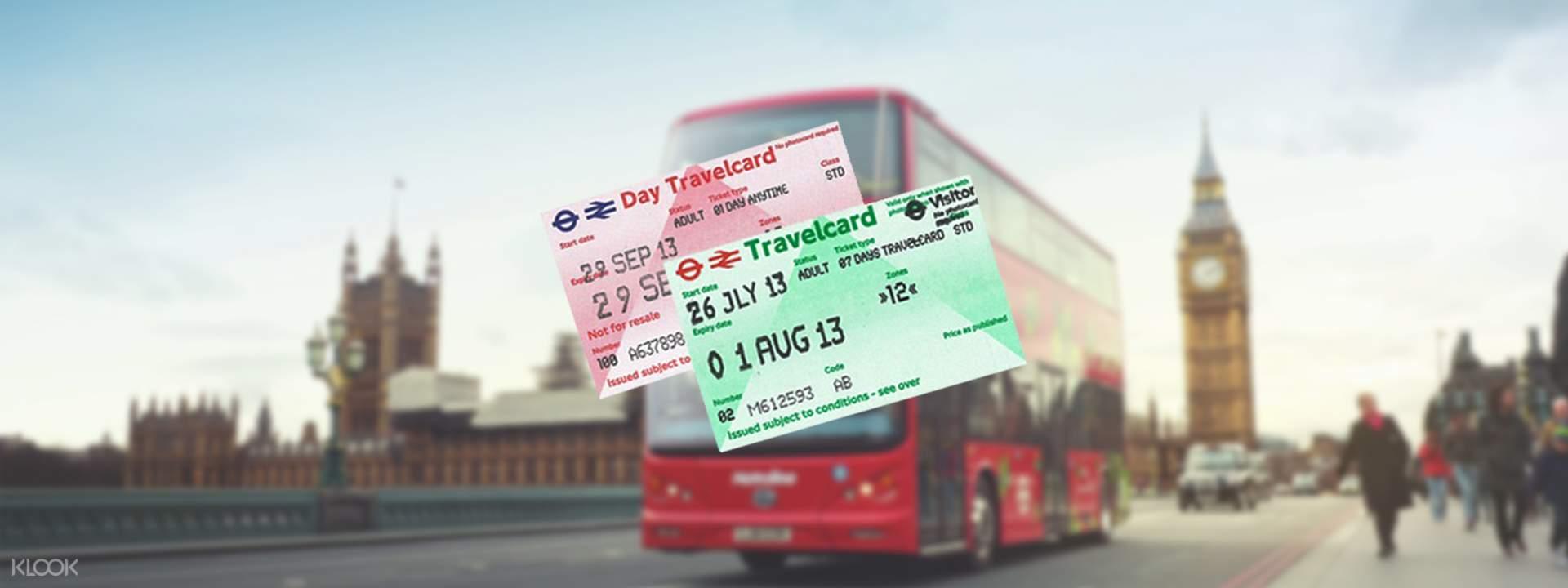 런던 트래블카드 - Klook