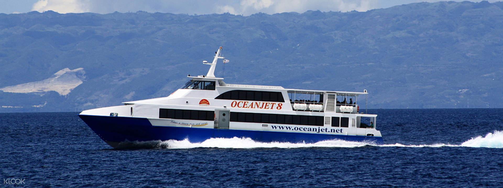 """Cebu-Bohol OceanJet Ferry Ticket"""""""