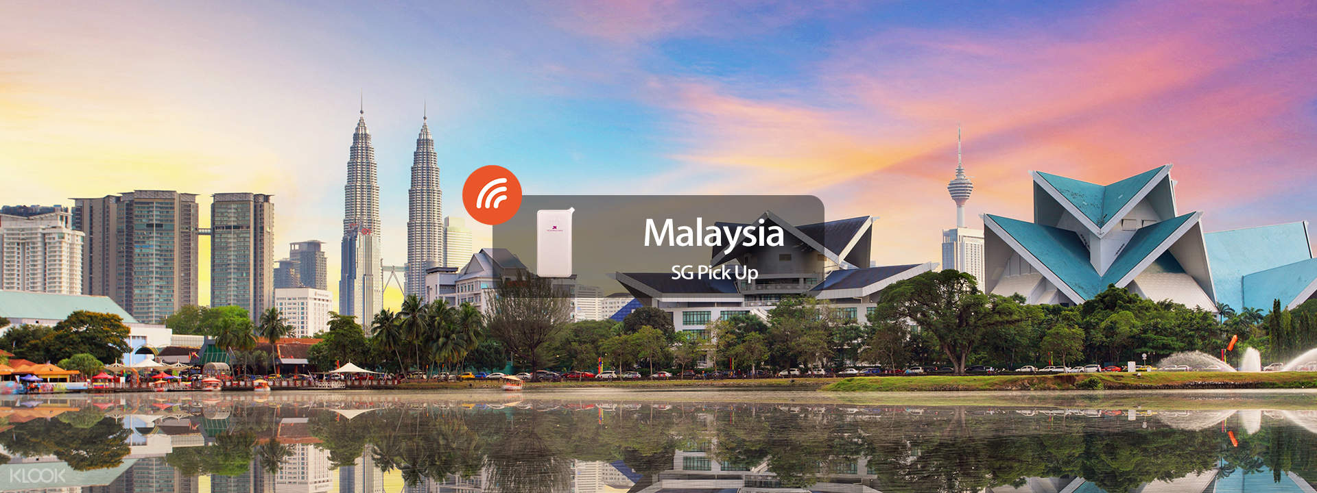 4G WiFi (SG Pick Up) for Malaysia - Klook