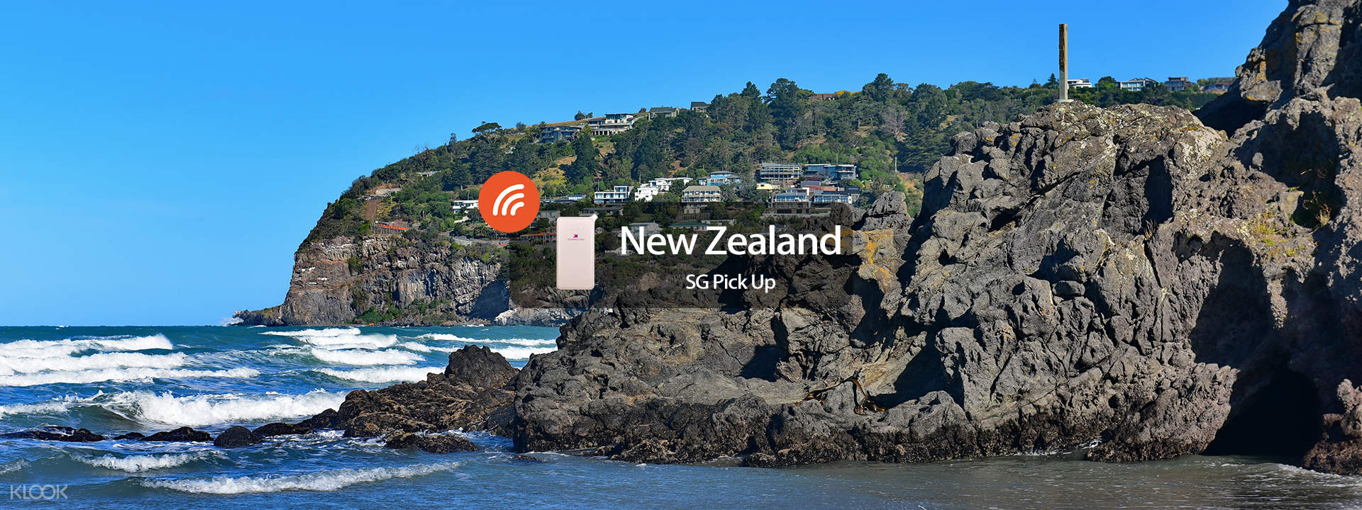 4G Wifi (SG Pick Up) for New Zealand - Klook