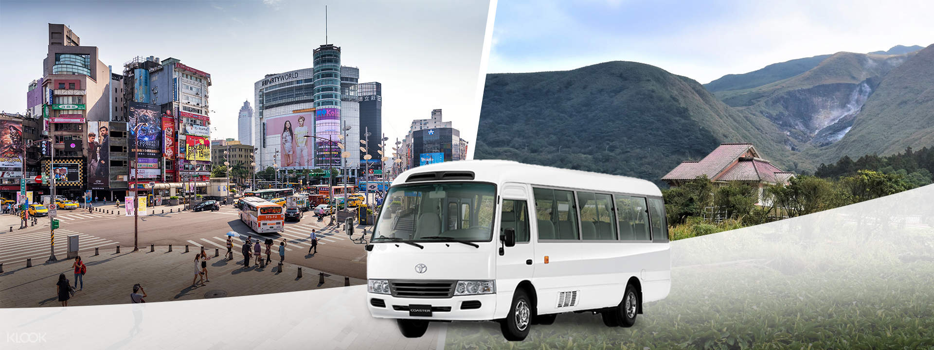 Up to 15% Off | Yangmingshan Shuttle Bus from Ximen - Taipei, Taiwan - Klook