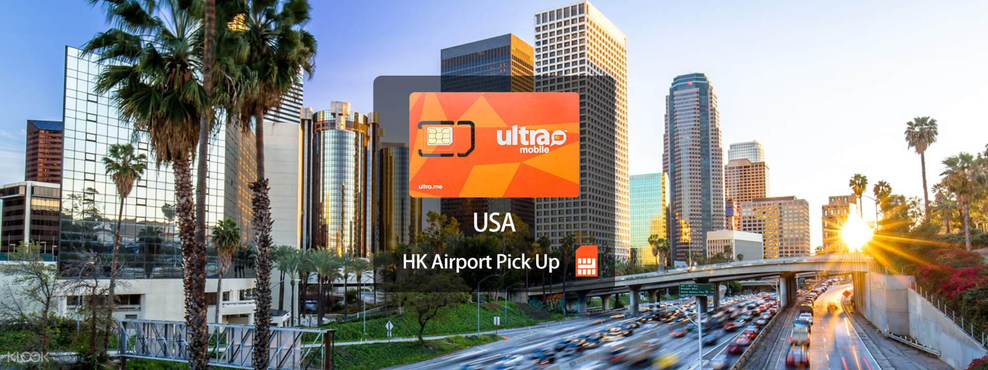 4G SIM Card (HK Airport Pick Up) for USA from Ultra - Klook
