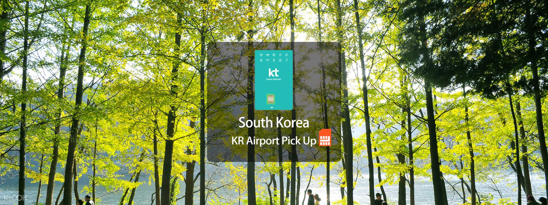 4G SIM Card (KR Pick Up) for South Korea from KT Olleh - Klook
