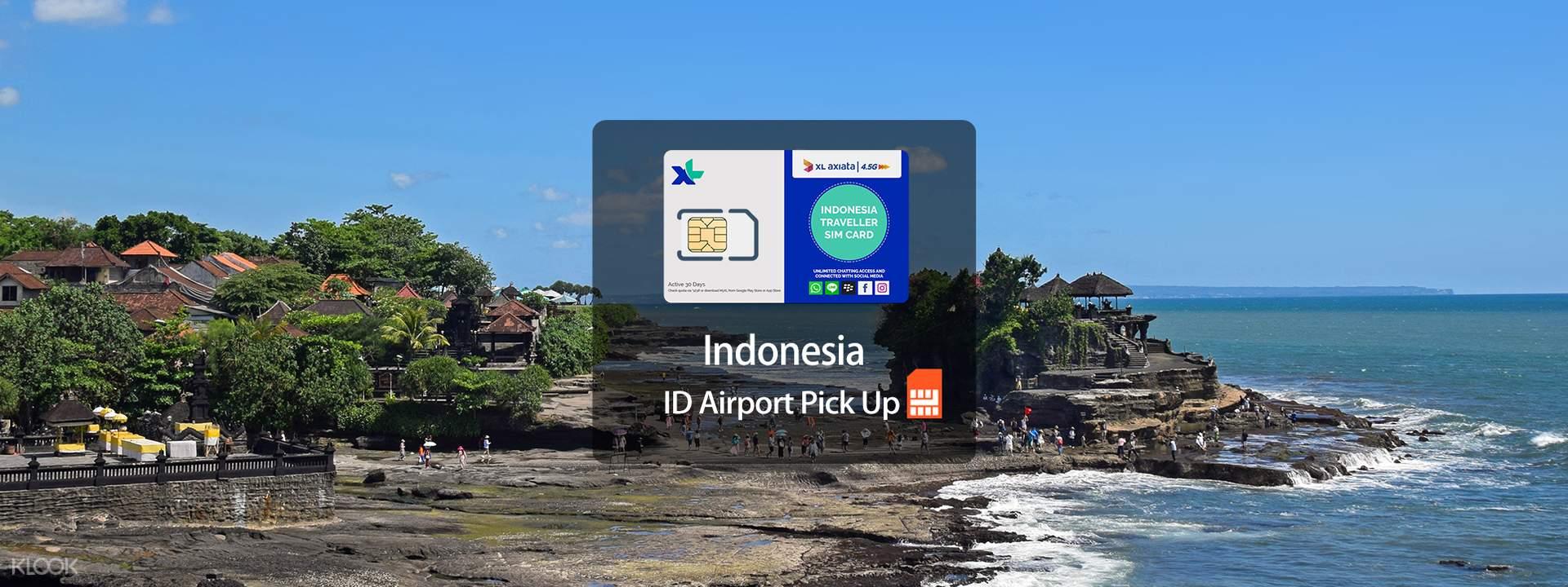 3G/4G Bali SIM Card (Denpasar DPS Airport Pick Up) - Klook