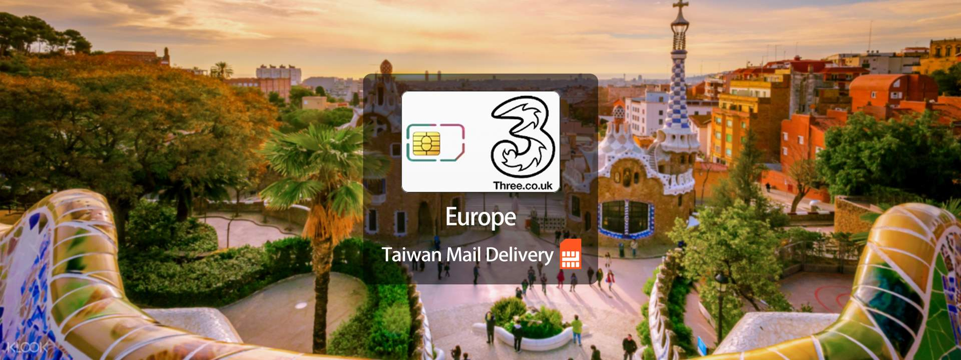 Europe Prepaid SIM Card (Taiwan Home Delivery) - Klook