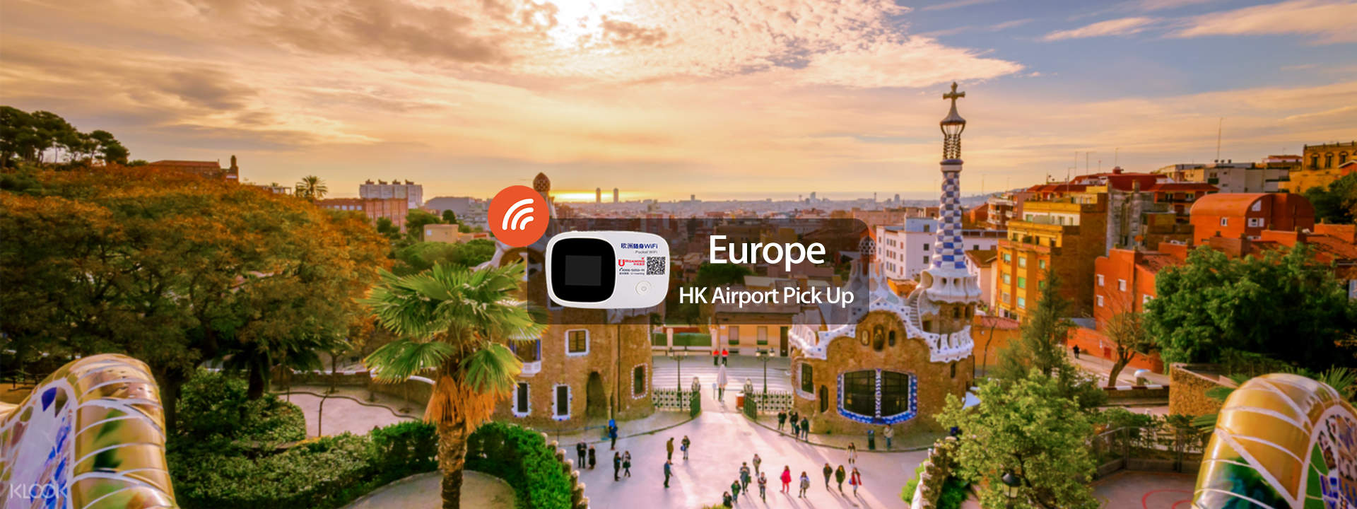 Europe WiFi Device (Hong Kong Pick Up) - Klook