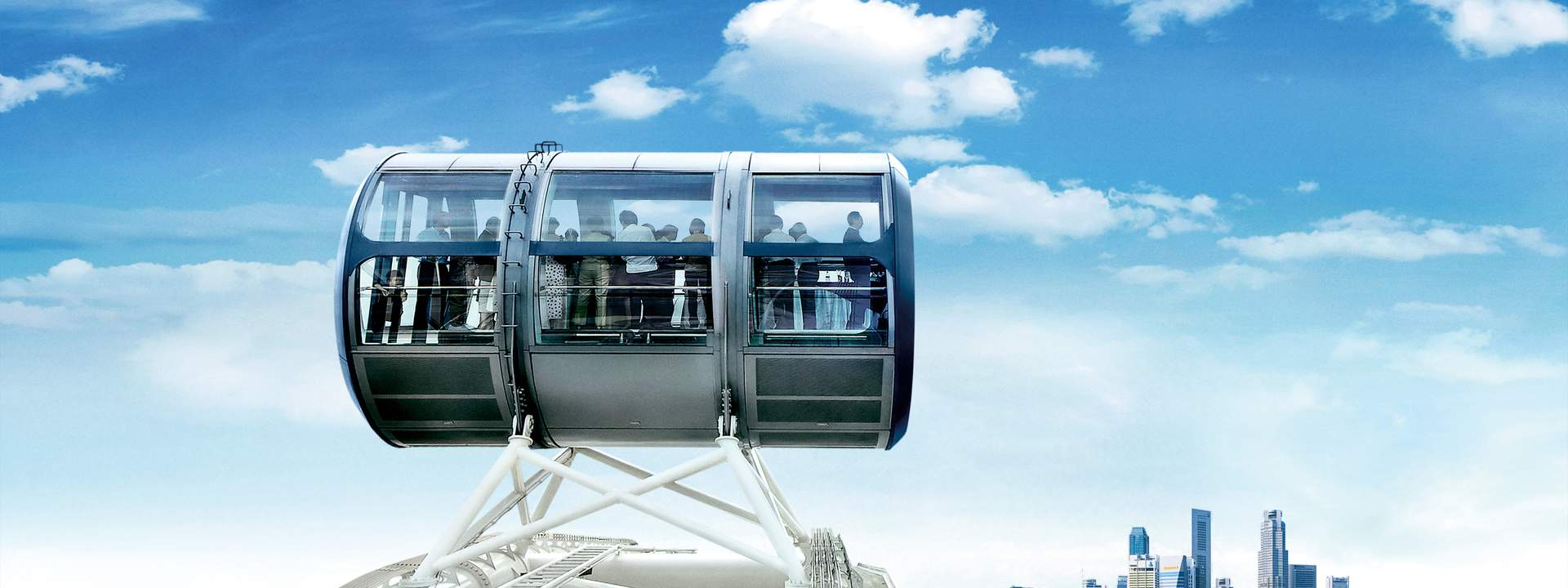 Singapore Flyer Flight and Universal Studios Singapore™ Ticket""