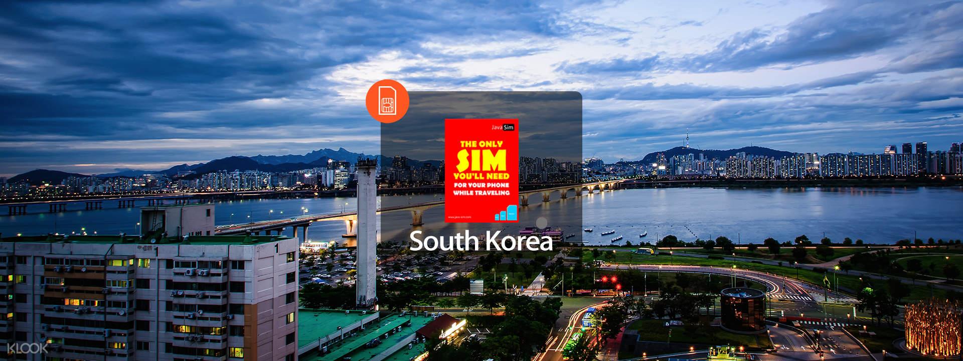 SIM Card 4G dari JavaMifi untuk Korea Selatan (Pengambilan ...
