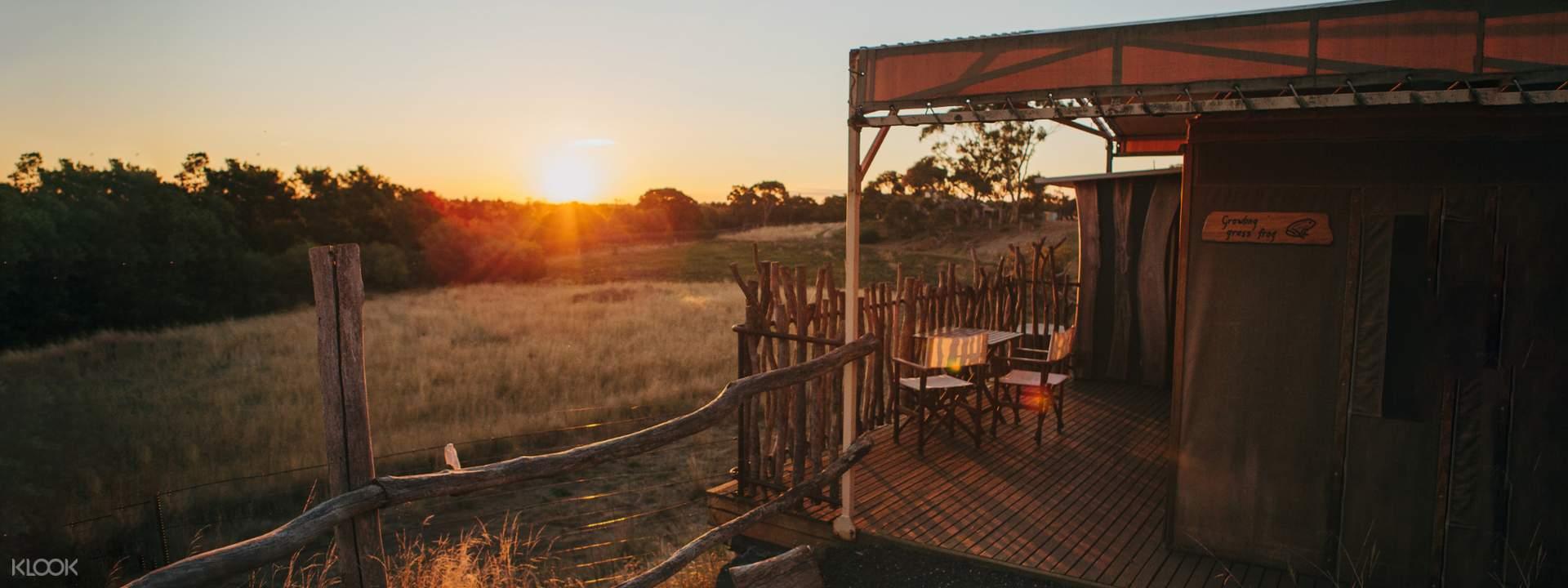 Slumber Safari and Family Off Road Experience at Werribee