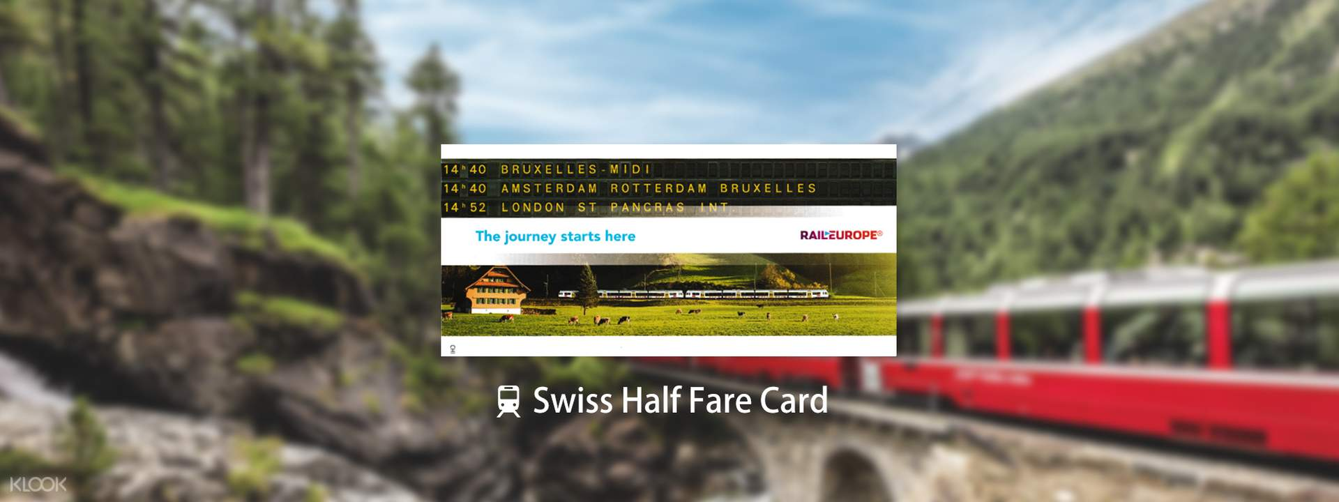 Swiss Half Fare Card in Switzerland - Klook