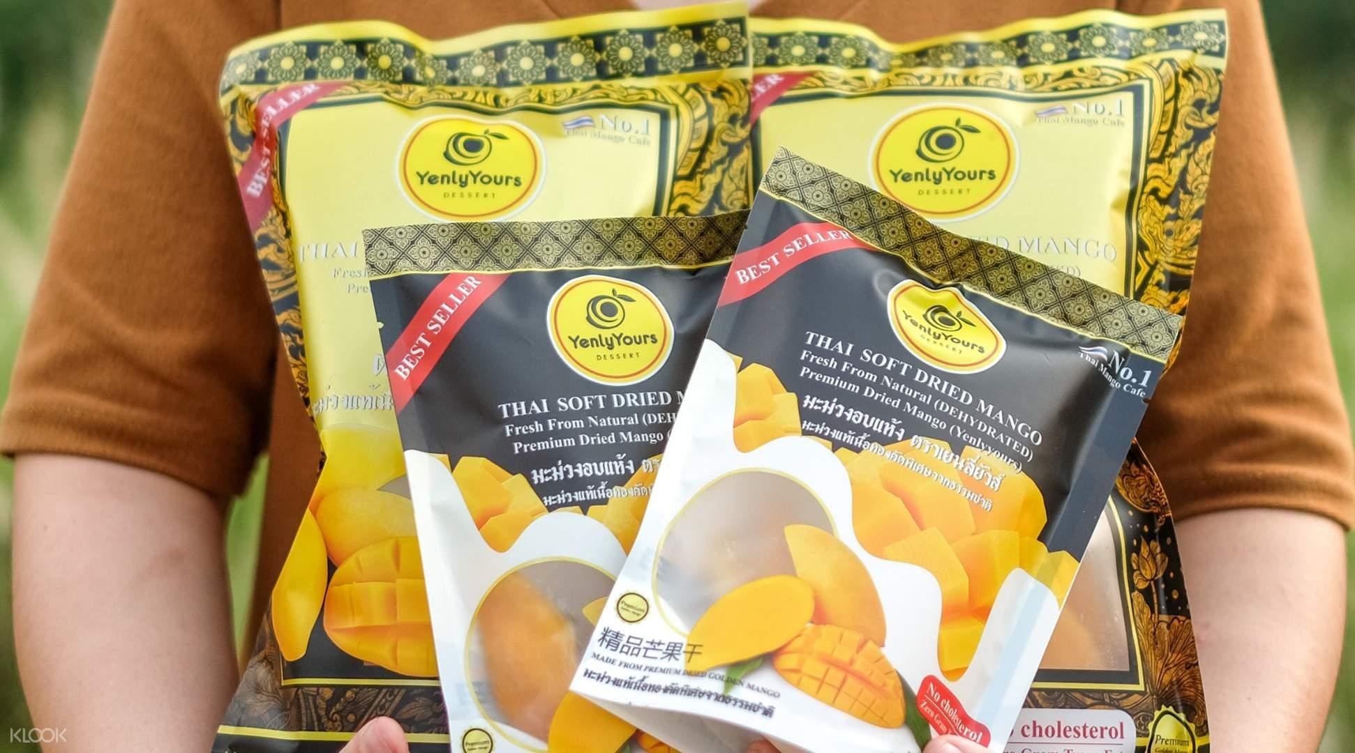 Yenly Yours Dessert Soft Dried Mango In Bangkok