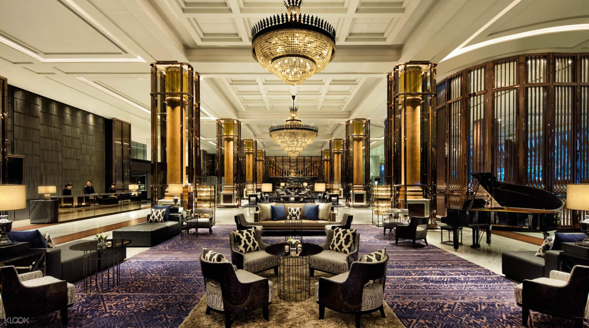 Western Afternoon Tea For 2 At The Lobby Lounge At Bangkok Marriott Marquis Queen S Park Thailand