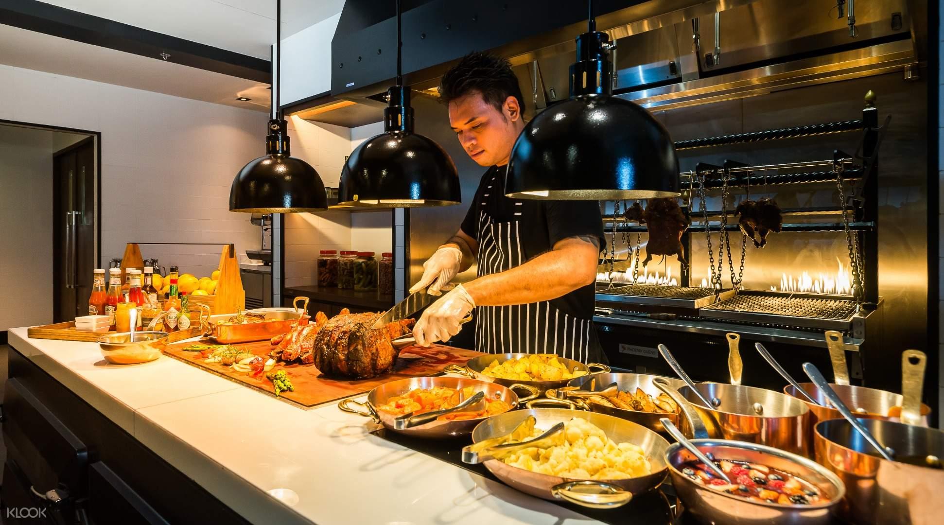 Goji Kitchen Bar Buffet At Bangkok Marriott Marquis Queen S Park