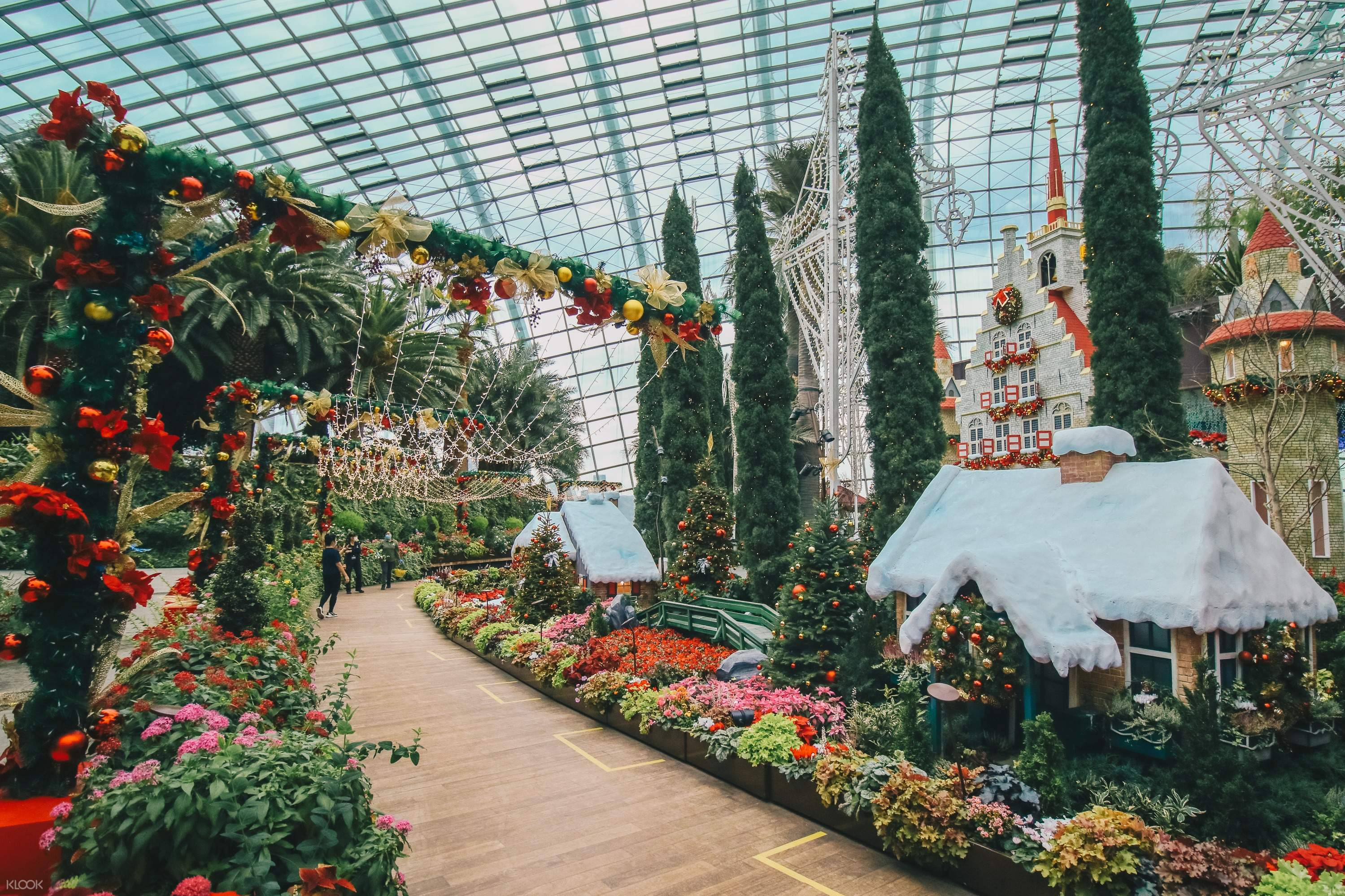 Singapore Gardens By The Bay Tickets Cloud Forest Flower Dome