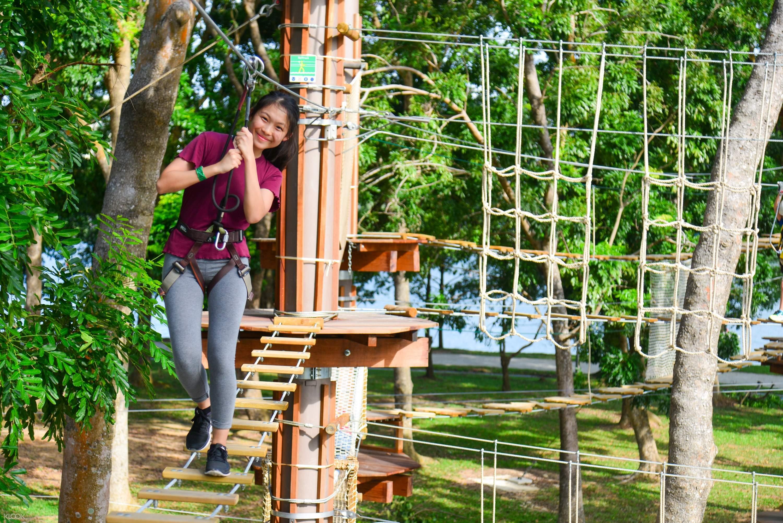 Zipline Experience In Forest Adventure Klook Canada